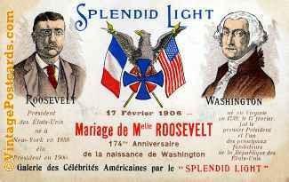 Roosevelt & Washington