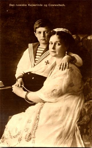 Russian Empress and Czarevitsch