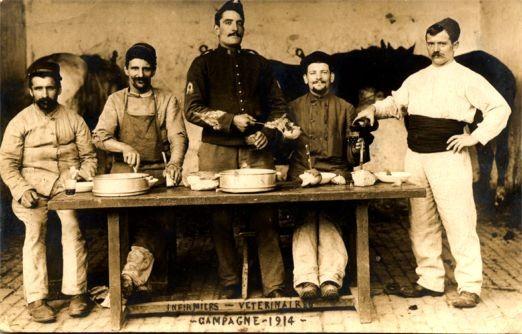 World War I Verterinarians French RP