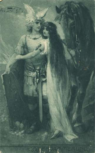 German Opera Warrior Lady Horse