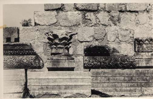 Palestine Synagogue Wall Designs RPPC