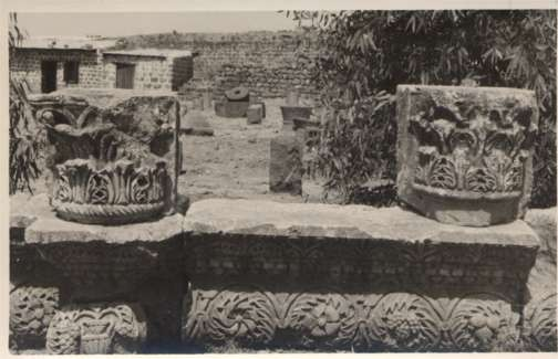 Palestine Synagogue Wall Pieces Design RPPC