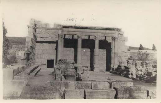 Palestine Synagogue Capharnaum Wall RPPC