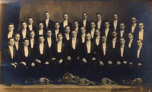 WISCONSIN Beloit College Musicians RPPC