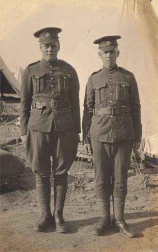 Canada Soldiers WWI Real Photo