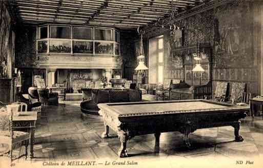France Castle Meillant Billiard Table Sports