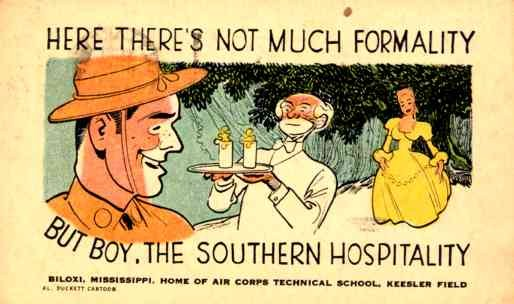 Mississippi Military Black Comic WWII