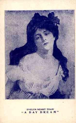 Actress Evelyn Nesbit