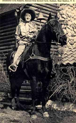 Nashua Cowboy on Horse