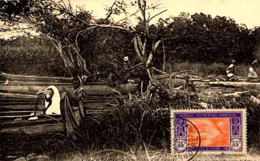 Africa Blacks Maxi Card Ivory Coast