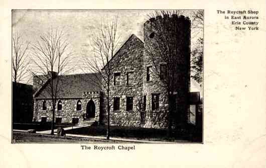 NEW YORK East Aurora Roycroft Chapel