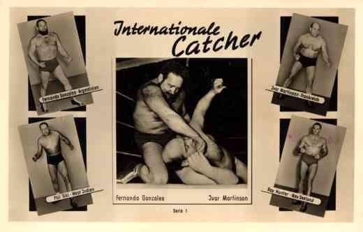 Famous International Wrestlers RP