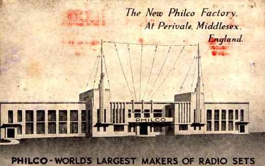 UK Middlesex Perivale Radio Sets Mfg