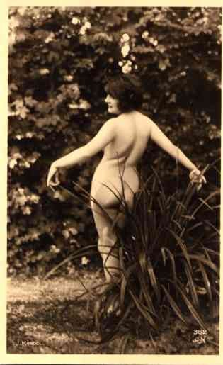 French Risque Nude by Plant RP