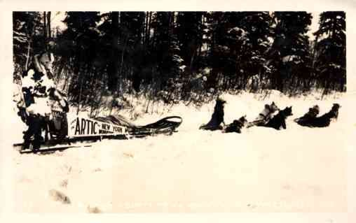 Dog-Drawn Sled from Arctic to NY RP
