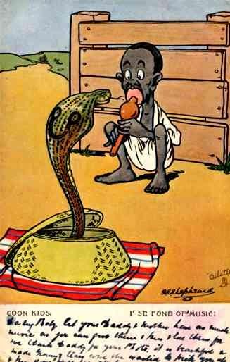 Black Snake Charmer Tuck