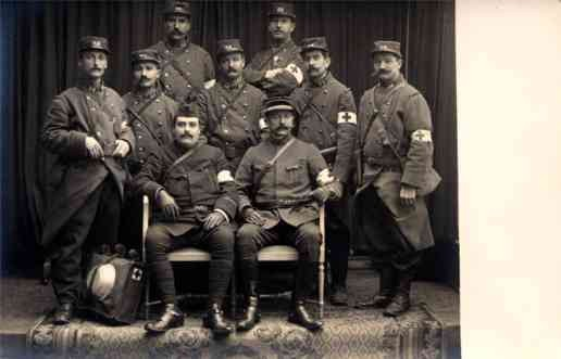 Red Cross Group WWI Real Photo