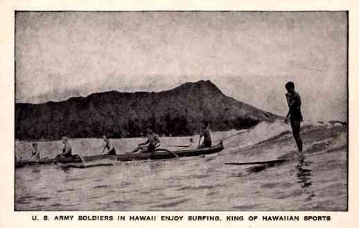 Hawaii Military Surfing