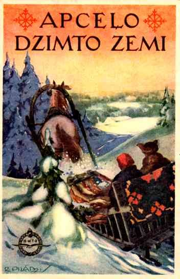 Couple in the Horse-Drawn Sleigh