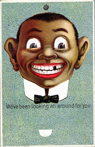 Black Caricature Novelty
