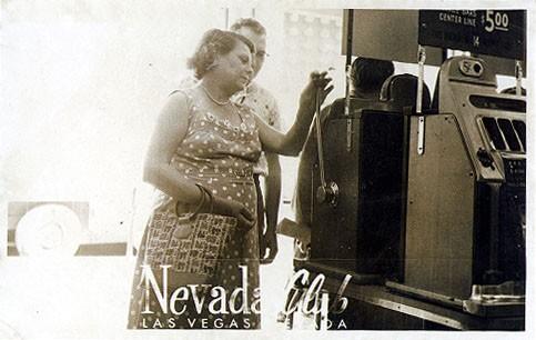 Las Vegas Casino Gambling Real Photo