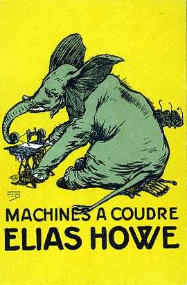 French Sewing Machine Advertisement