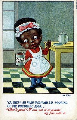 Black Maid Comic Caricature