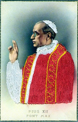 Religious Pope Silk Novelty