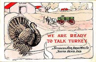 Studebaker Horse Drawn Wagon Advertisement