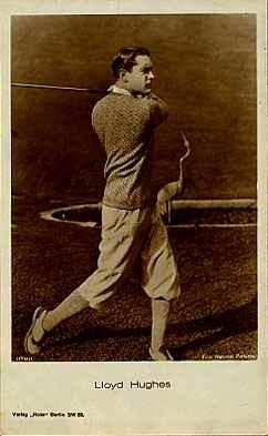 Golfer Real Photo