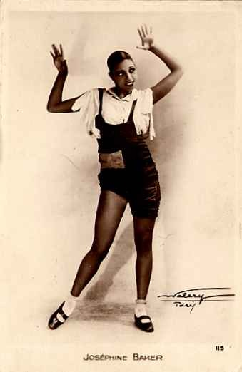 Josephine Baker Real Photo #3