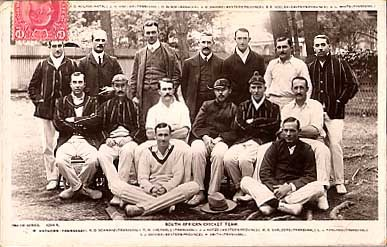 South Africa Cricket Team Real Photo