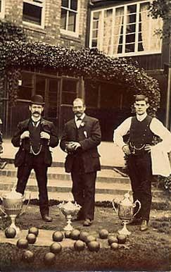 British Lawn Bowling Real Photo