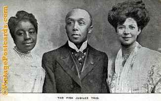 The Fisk Jubilee Trio