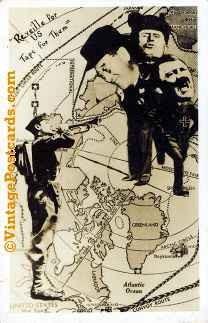 World War II Anti-Axis Photomontage