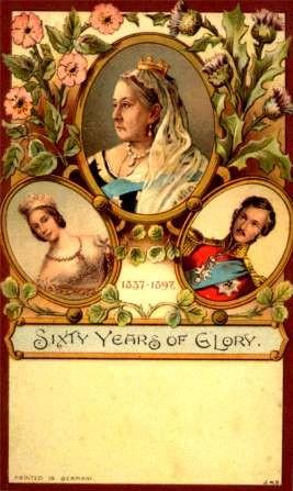 British Queen Victoria Pioneer