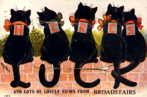 Wain Cats Broadstairs Novelty Fold-Out