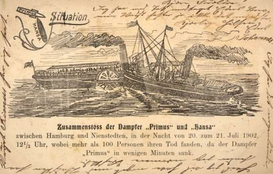 Shipwreck Steamships Germany