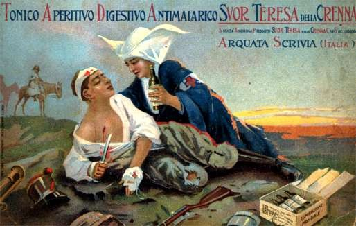 Red Cross Nurse Advertising Tonic
