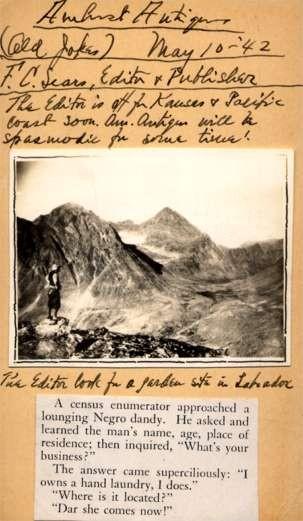 Editor Labrador Mountains Real Photo