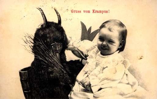 Smiling Child Krampus