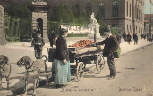 Dog-Drawn Cart Berlin Germany