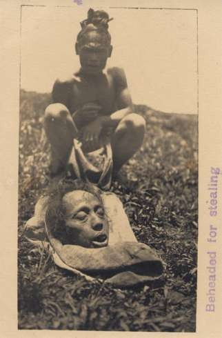 Beheaded Philippines Real Photo