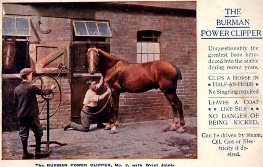 Advertising Horse Power Clipper