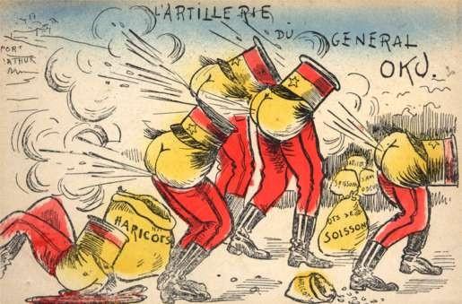 Russo-Japanese War Farting Satire