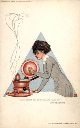 Coles Phillips Cooking Pot Shakespeare