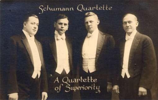 Schumann Quartette Real Photo