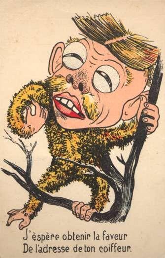 Japanese Monkey Russo-Japanese War Satire