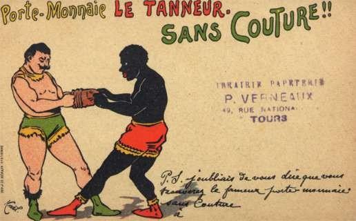 Black Boxer Boxing Gloves Advertising