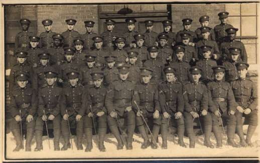 Canadian Military Black Soldiers WWI Real Photo